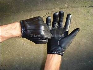 Leather Gloves Police Cop Gloves