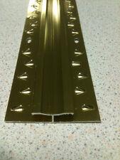 900mm STIKATAK CARPET TO CARPET DOUBLE EDGE THRESHOLD TRIM GOLD