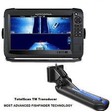 Lowrance HDS-9 Carbon Chartplotter/fishfinder-Insight Charts-TotalScanTransducer
