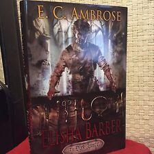 Elisha Barber 1 by E. C. Ambrose HC DJ 1st/1st Free Shipping