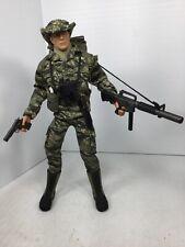 1/6 21ST CENT US ARMY GREEN BERET COMMANDO VIETNAM TIGER STRIPE DRAGON BBI DID