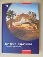 Diercke Erdkunde 7/8 für Gymnasien in Niedersachsen Westermann