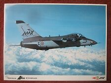 DOCUMENT PUB RECTO VERSO AERITALIA AERMACCHI EMBRAER AMX