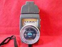 Belichtungsmesser Gossen Lunasix 3 mit Tele Vorsatz