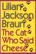 The Cat Who Said Cheese (Thorndike Core)-ExLibrary