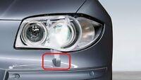 BMW NEW GENUINE 1 SERIES E87 HEADLIGHT WASHER JET COVER CAP PRIMED LEFT 7129835