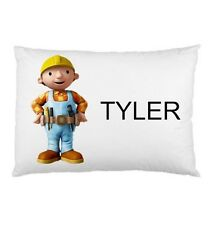 BOB THE BUILDER Personalized childrens kids BED pillow case
