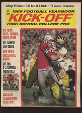1969 Kick Off Football Yearbook EX