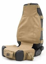 Smittybilt 5661024 Gear Seat Cover - Front - Coyote Tan Jeep Accessories