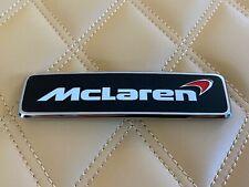 Genuine McLaren 650S 570S 570GT 600LT Front Hood Emblem Badge Extremely RARE