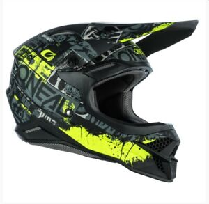 Oneal 2021 3 Series Ride Yellow Helmet