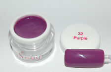 Color gel  UV / LED   7ml  Purple n°32 Naility USA gel de couleurs 0,23 fl oz