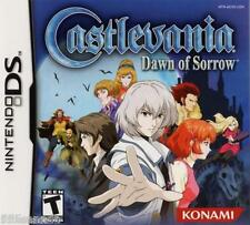 Castlevania Dawn of Sorrow (Nintendo DS, 2005) BRAND NEW