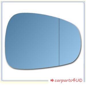 Spiegelglas zum Kleben für ALFA ROMEO 159 2005-2011 rechts asphärisch blau