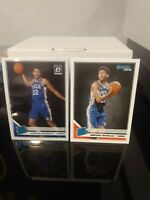 MATISSE THYBULLE (2) CARD LOT 2019-20 Panini Donruss & Optic  RATED ROOKIE 76ERS