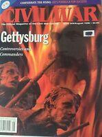 Civil War Magazine Gettysburg Commanders August 1998 082217nonrh