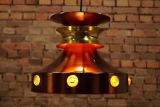 70er DANISH DECKENLAMPE PENDELLAMPE PENDANT LAMP LEUCHTE LAMPE HÄNGELAMPE C36