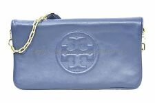 NWT Tory Burch Bombe Reva Clutch in Hudson Bay - Blue. Style# 18169698 MSRP $350