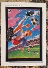 "Vintage & Original Nike Poster Card - Kids' Soccer - 5""x7"" - Circa 1990/1991"