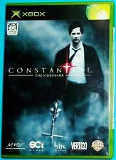 NEW SEALED RARE XBOX -CONSTANTINE- X BOX JAPAN JAPANESE IMPORT ACTION VIDEO GAME