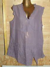 superbe haut / top / blouse 100 %coton taille 46 Patrice Breal  parfait état