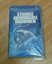 Strange Abominable Snowmen - Warren Smith -Vintage Paperback Book Sasquatch Yeti