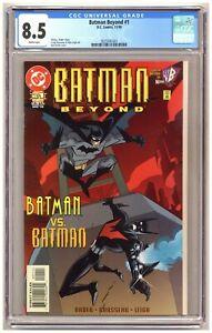 Batman Beyond #1 (CGC 8.5) Batman vs. Batman; Rousseau art; DC Comics; 1999 C539