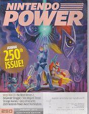 JAN 2010 -  NINTENDO POWER video game magazine MEGA MAN 10