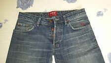 Rare Pre-Owned Vintage Trouser,Blue Jean:CENTO COSE-Size 31