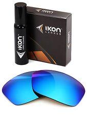 Polarized IKON Iridium Replacement Lenses For Oakley Hijinx Ice Blue Mirror
