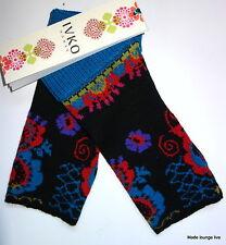 Ivko Guantes Calentadores de mano Sin Dedos Diseño Floral pullwarmers 54519