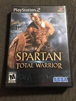 Spartan Total Warrior *Playstation 2* Complete w/ Manual