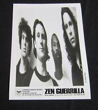 ZEN GUERILLA--PUBLICITY PHOTO—5 X 7*