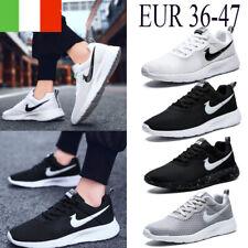 Scarpe Da Ginnastica Sneakers Donna Uomo Scarpe Da Corsa Sportivo Traspirante IT