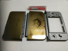 NEW 3DS XL GOLD ZELDA  Majoras Mask Top & Battery Cover Housing Shell 3 PCS SET