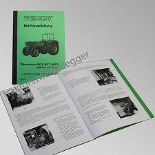 Fendt Betriebsanleitung Favorit 610S 611S 612S 614S Traktor Schlepper 500010