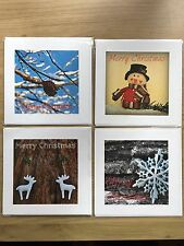 Photographic Christmas Cards by Papura Photography Set of 4