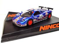 SCX Scalextric Slot Ninco 50638 McLaren F1 Gulf Nº25