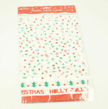 Decorated Christmas Table Cover Tablecloth Xmas Party Festive Table Cloth (No.4)