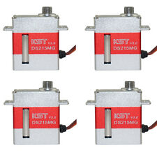 4pcs KST DS215MG V3.0 Digital Coreless Swashplate Servo