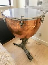"GORGEOUS 26"" hammered copper Timpani drum"