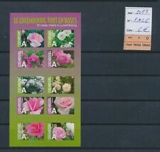LM31929 Luxembourg 2010 flowers nature good sheet MNH fv 6 EUR