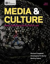 Media and Culture : Mass Communication in a Digital Age by Bettina Fabos, Richa…