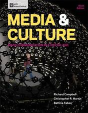 Media and Culture : Mass Communication in a Digital Age by Bettina Fabos,...