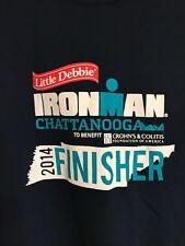 2014 Ironman Finisher 70.3 Chattanooga Triathlon Jersey Gray Women's Sz M Zorrel
