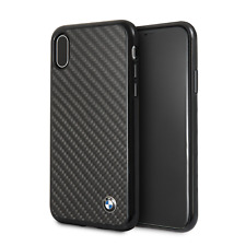 BMW Signature Carbon iPhone X Schutzhülle Back Case Cover Schwarz