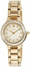 DKNY Women's NY2392 'Chambers' Crystal Gold-Tone Stainless Steel Watch
