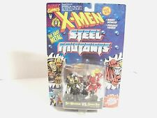 New X-Men Die Cast Steel Mutants Spy Wolverine Vs. Omega Red W/Collectors Stand