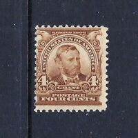 US #303   MINT-VLH ~ 1902-3 PERF 12, DL WMK
