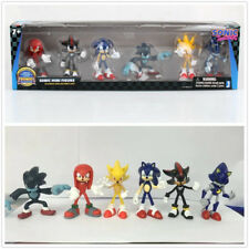 2018 New 6Pcs Sega Sonic The Hedgehog Action Figure Collection Toys Kid's Gifts